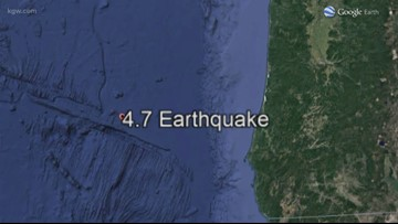 4.7 earthquake hits off Southern Oregon Coast