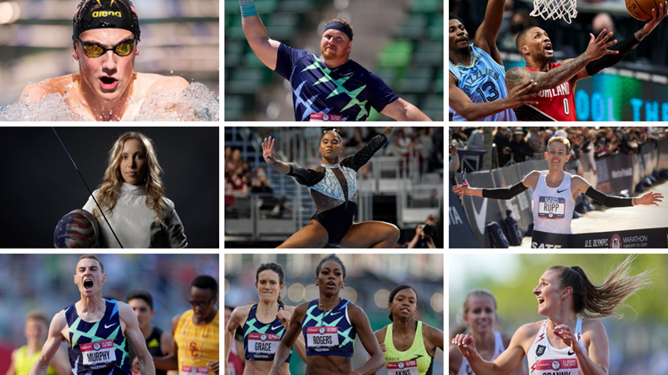 Your guide to local athletes in the Olympics