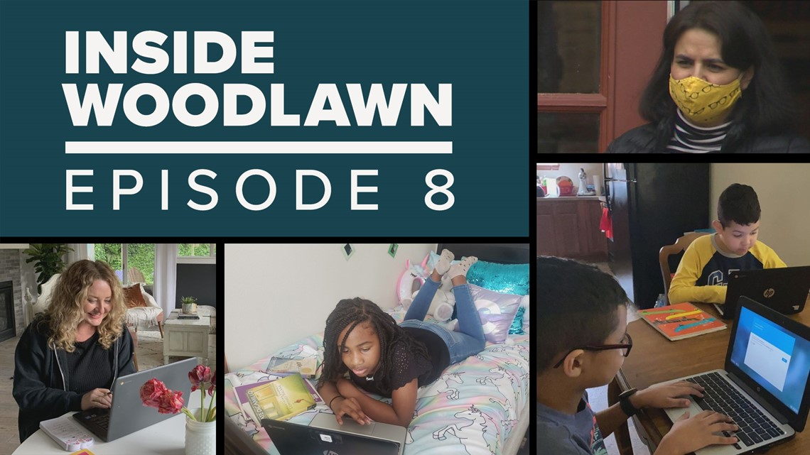 The challenges and successes of distance learning   Inside Woodlawn Ep. 8