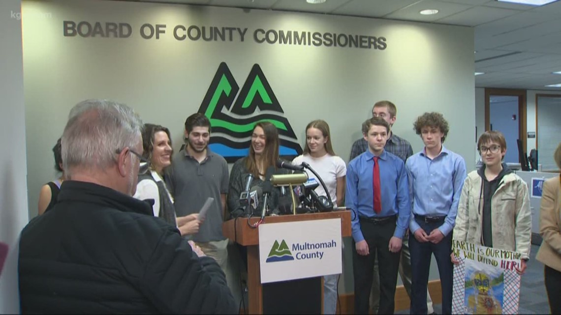 Multnomah County joins climate change case