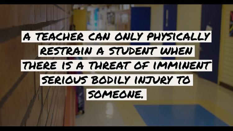 classrooms restrain