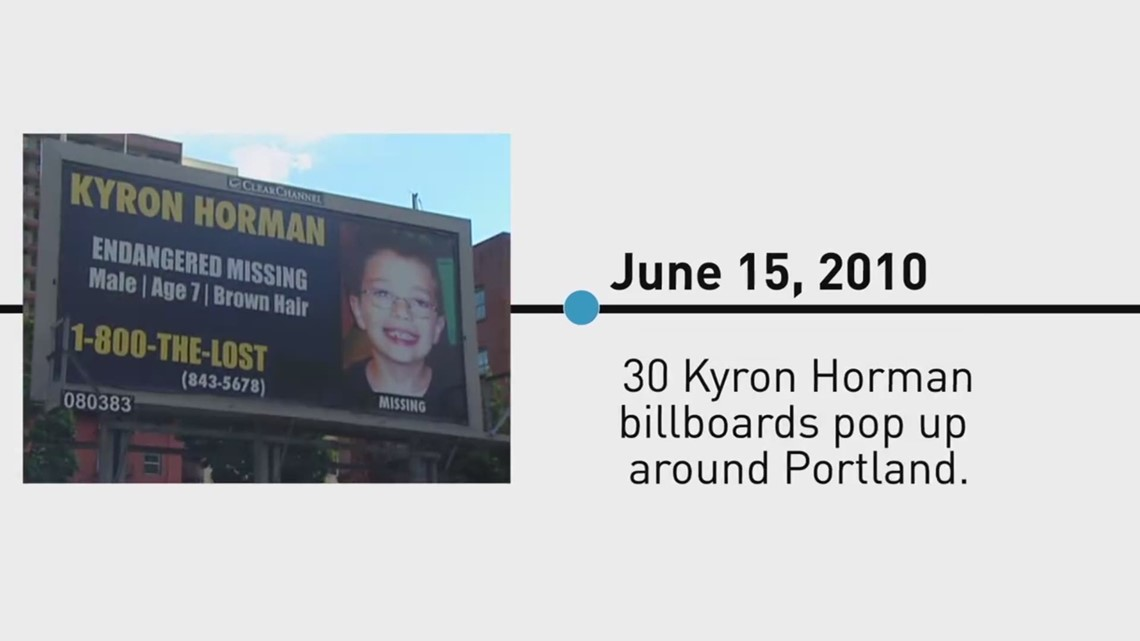 2017: Kyron Horman timeline   7 years since he disappeared