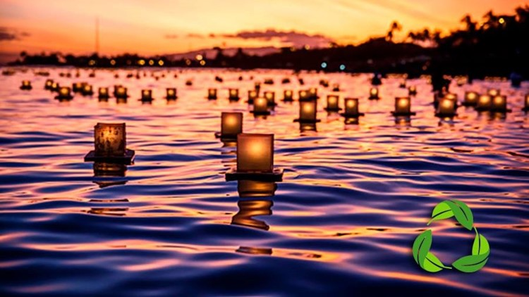 River Lantern Lighting