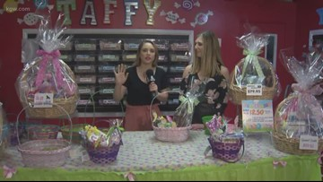 Build your own Candy Basket for Easter