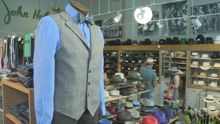 Downtown Portland men's clothing store celebrates 100 years in business