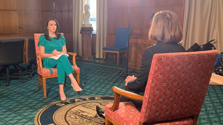 Gov. Kate Brown discusses vaccine mandates, face mask requirements, the recent heat wave and more