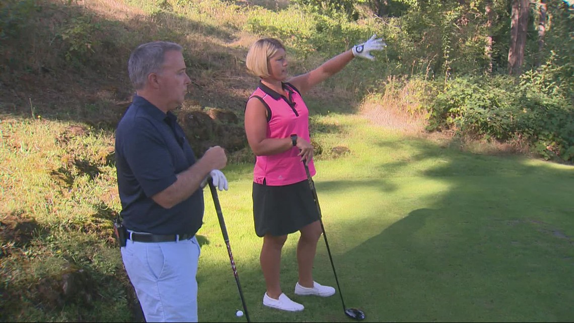 Rod Hill's day at the Oregon Golf Club, home of the Cambia Portland Classic