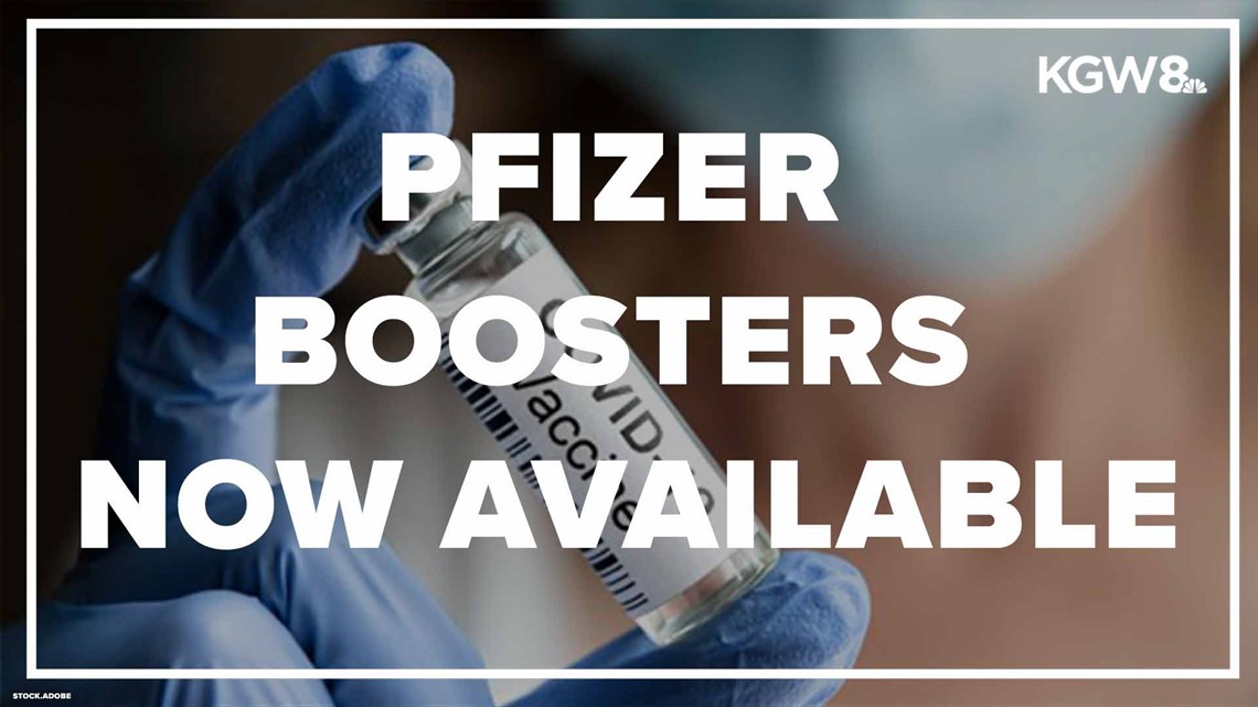 Booster shots appointments now available, recommended for some groups
