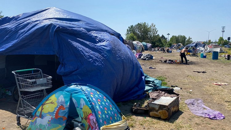 With large camp slated to be cleared, Salem wants to pay businesses to open as homeless shelters