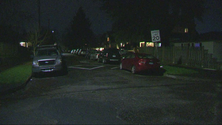 Gunfire narrowly misses person inside home in Northeast Portland, police say