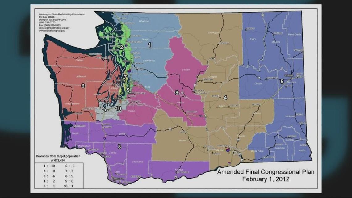 Washington legislative redistricting proposals released