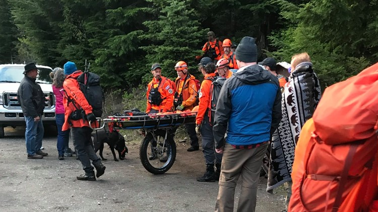 7 lost hikers rescued after spending night in the woods near Ramona Falls