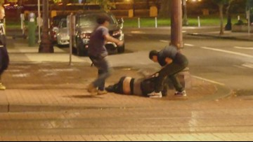 'Incredulous': 911 caller says brutal attack on homeless man was dismissed
