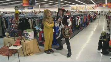 Out and About: Goodwill costume hunting