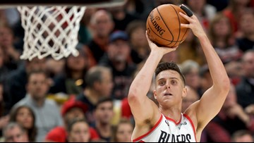 Blazers' Zach Collins to miss at least 4 months after shoulder surgery