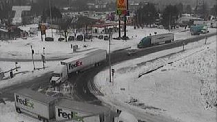 Traffic updates: I-84 reopens in gorge