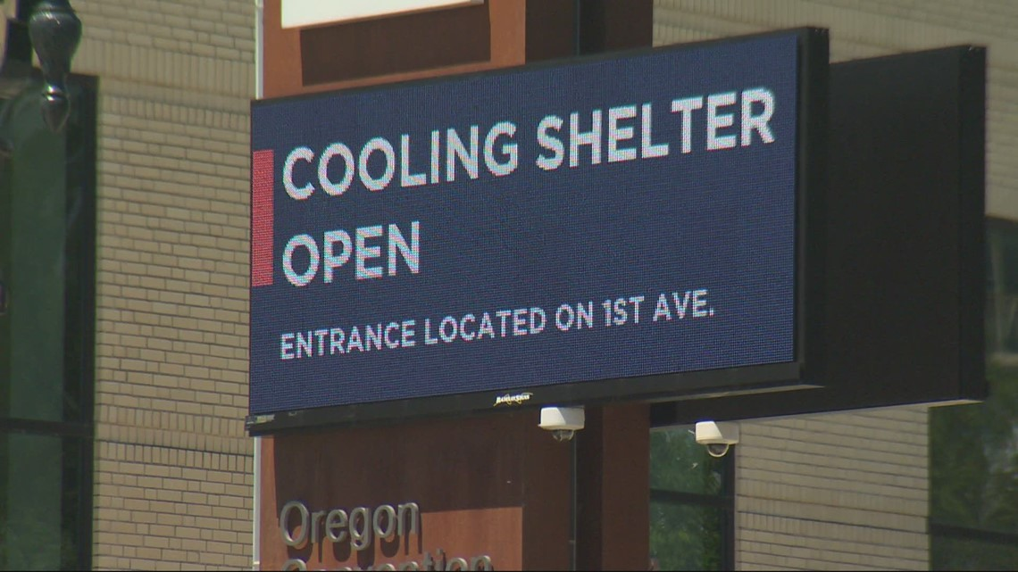 Cooling shelters open around Oregon to offer a cool place during triple-digit heat