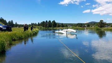 Plane crash near Sunriver leaves one dead, one injured