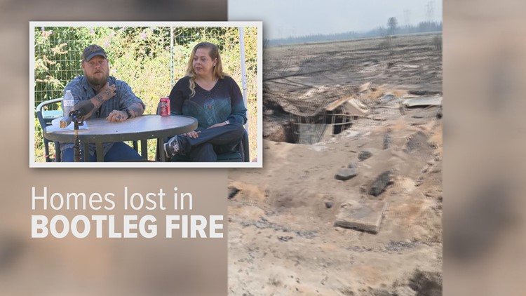 'Just wiped out our dreams': Couple loses home after fighting Bootleg Fire