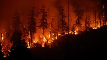 Milepost 97 Fire in Southern Oregon grows to nearly 9,000 acres, residents told to be ready to go