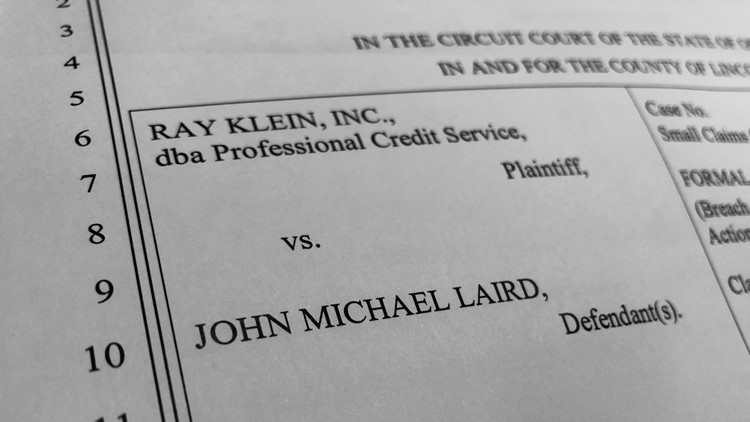 Ray Klein, Inc. vs. John Laird- Case Dismissed