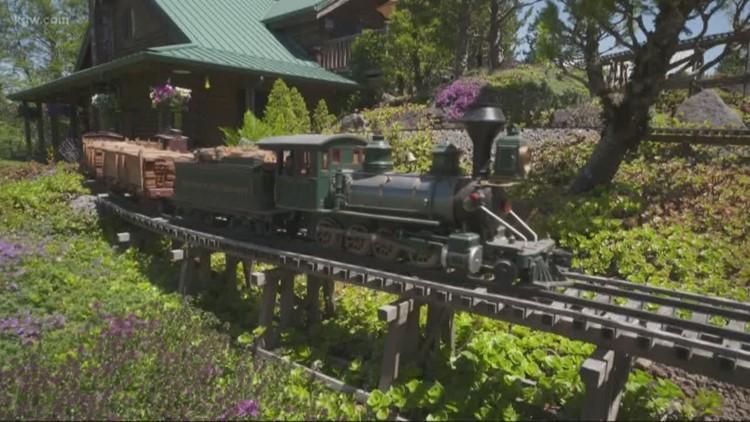 Grant's Getaways: Garden railroad