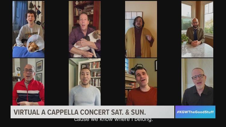 Portland Gay Men's Chorus a cappella group debuts solo performance with virtual concert