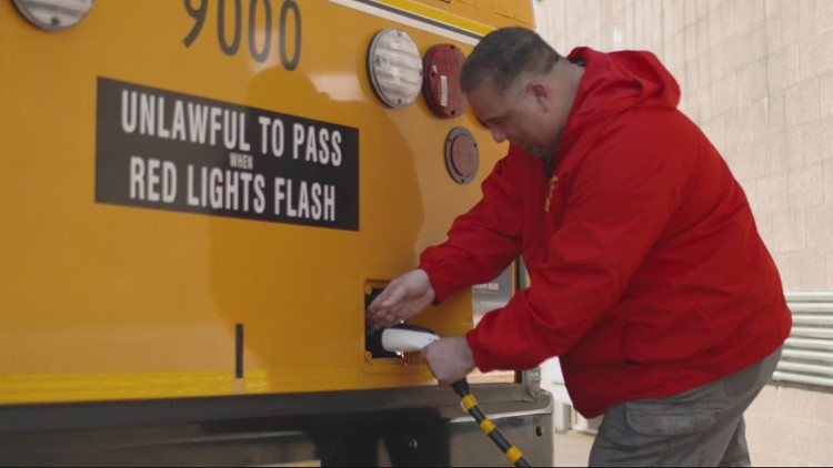 Oregon's first all-electric school buses are now on the road