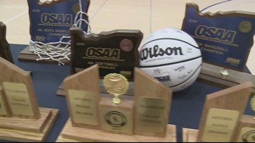 Banks HS celebrates sports 'Triple Crown'