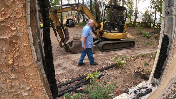Time capsule survives wildfire damage