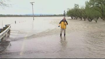 vigilancia de inundaciones hasta el sábado por la mañana para Portland, Salem, áreas de Vancouver