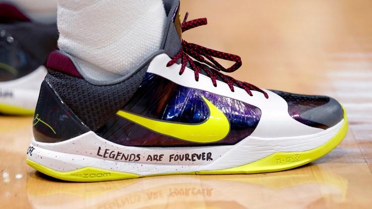 Photos: NBA players share tributes to Kobe Bryant