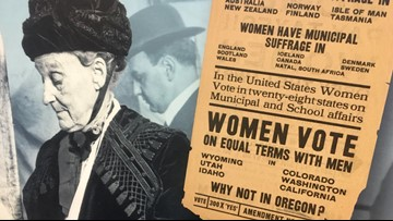 'We've come a long way': Oregon celebrates women's right to vote, searches for lost history connected to women's suffrage
