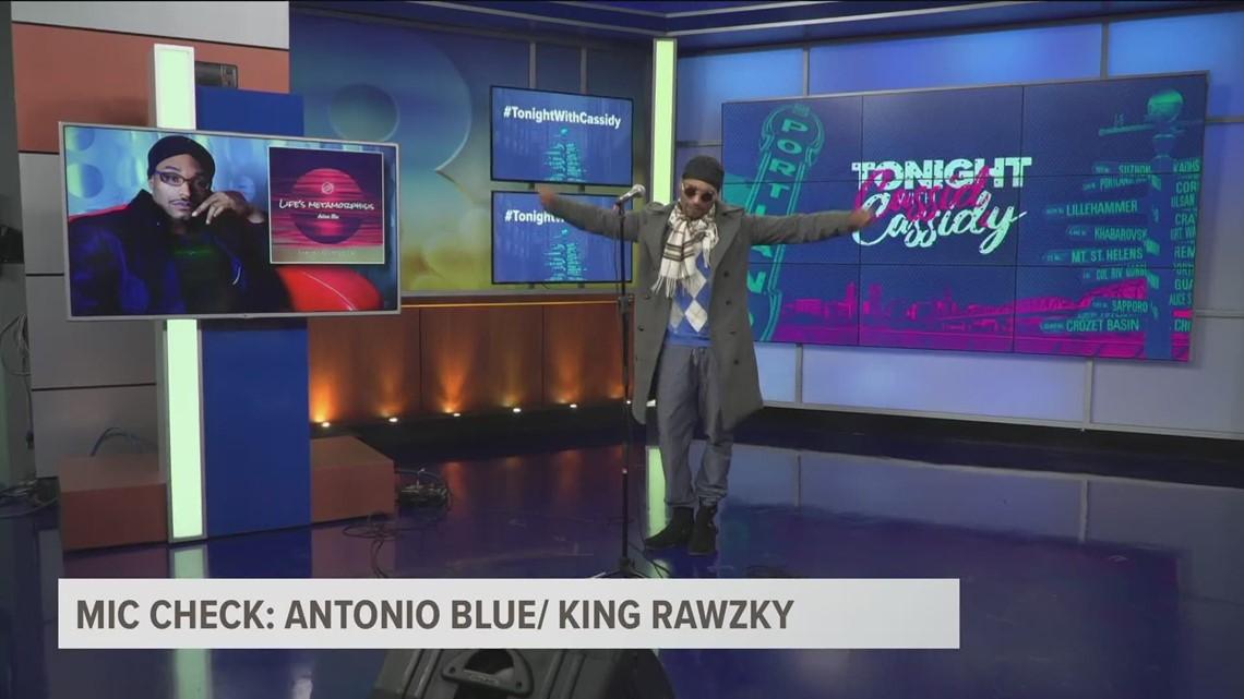 Mic Check: Antonio Blue/ King Rawzky