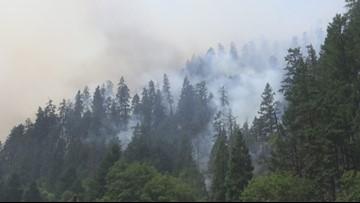 Wildfires burning in Oregon
