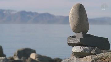 Rare salt mounds form at Great Salt Lake
