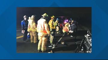 Fatal head-on crash closed Oregon 551 near I-5