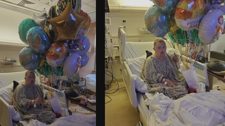 Twitter users fill hospital room with balloons for Vancouver COVID-19 patient with Down syndrome