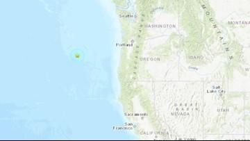 5.4 earthquake strikes off Oregon coast