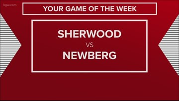 Sherwood at Newberg is KGW's Friday Night Flights Game of the Week!