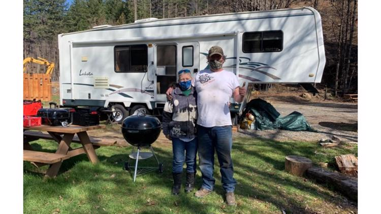 RV donated to Detroit couple living in hotels after wildfire