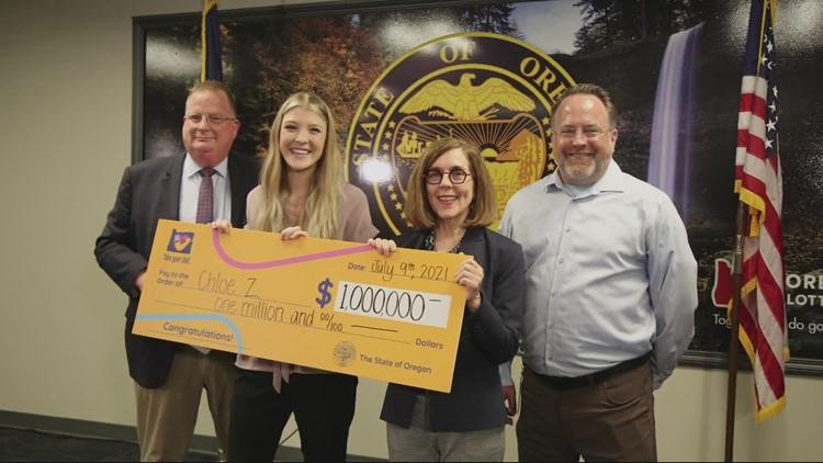 Oregon State University student wins $1 million vaccine jackpot