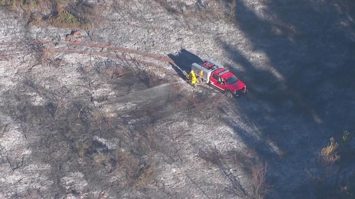 Grass fire southwest of Salem causes Level 3 'GO NOW' evacuations