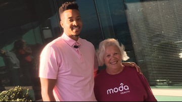 'It's more than just a woman's fight': Blazers' CJ McCollum teams up with breast cancer survivors to spread awareness