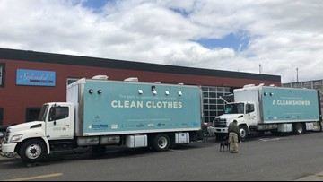 Shower, laundry trucks to hit the streets for Portland's homeless