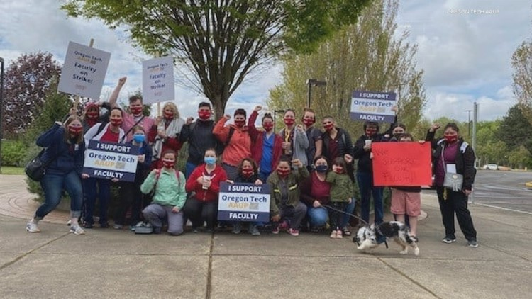 After historic strike, Oregon Tech faculty reach labor deal with university