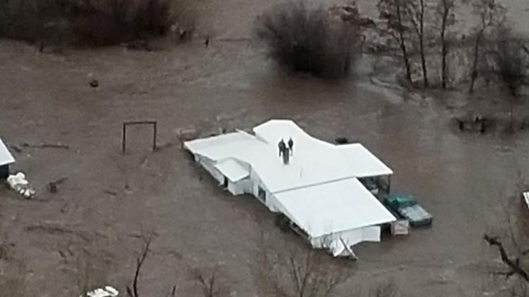 Umatilla flooding