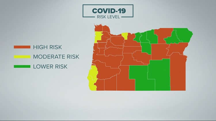 Businesses relieved as Oregon metrics allow 15 counties to move out of 'extreme risk'