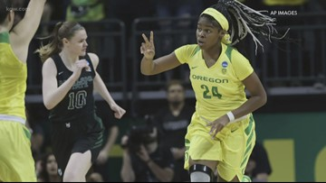 Ducks women play for spot in Sweet 16
