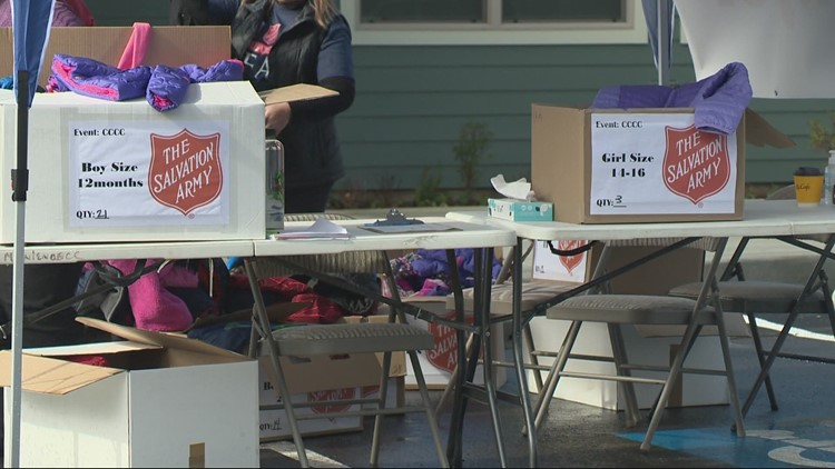'Coats for Kids' handed out to families